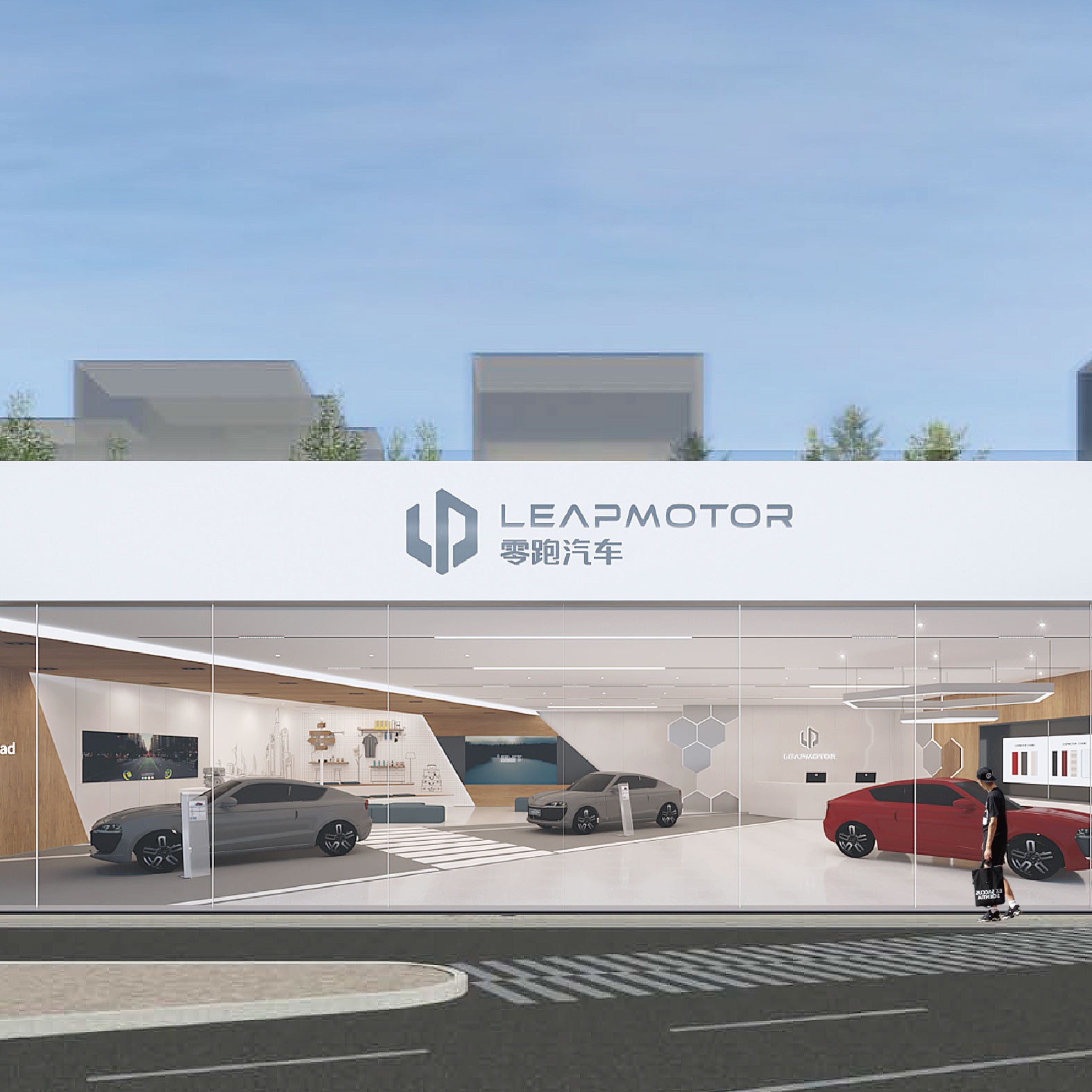 Experience Center design for LP| retail by CMdesign