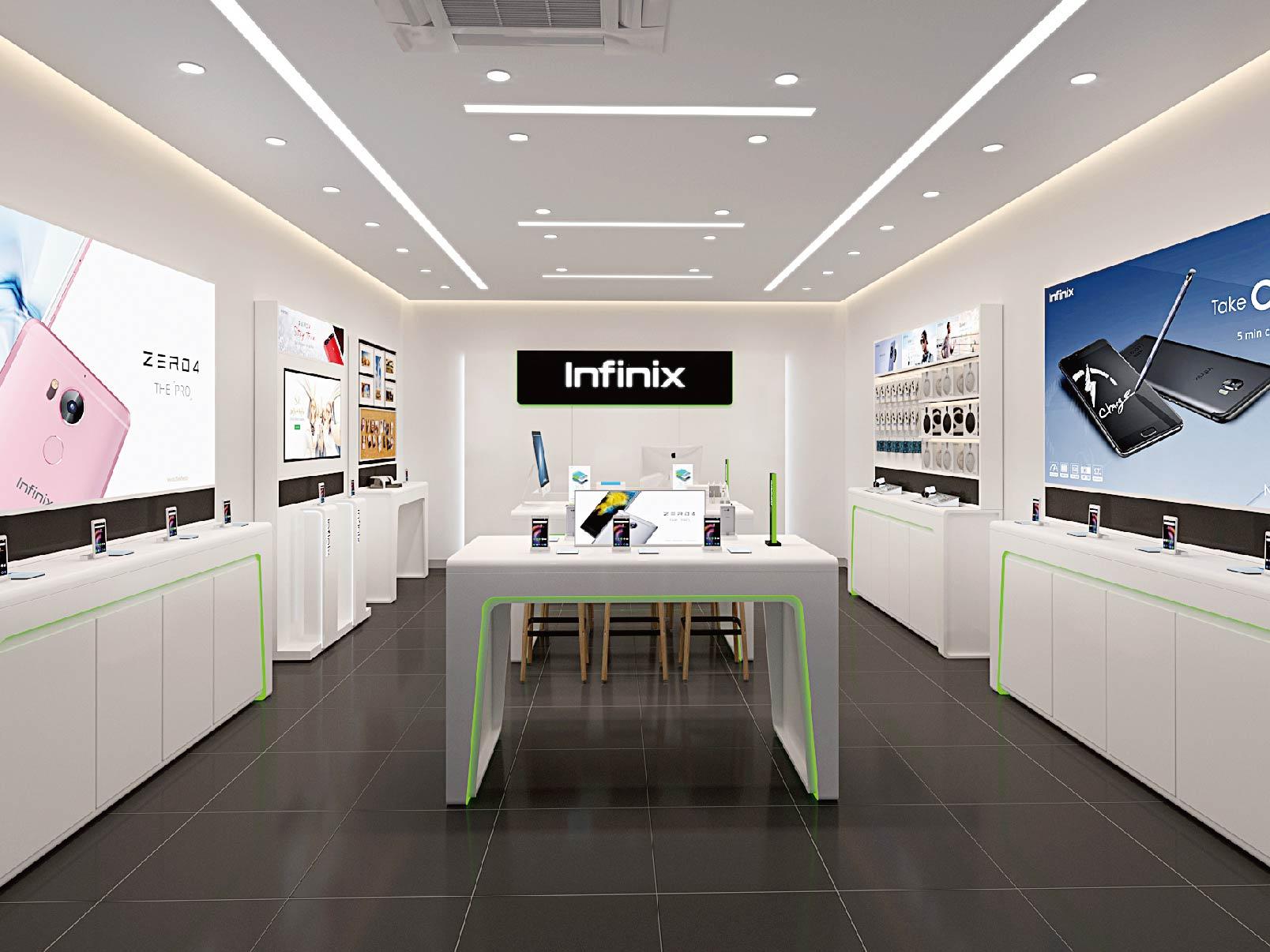 Shop Design for Infinix Flagship Store | Retail Design