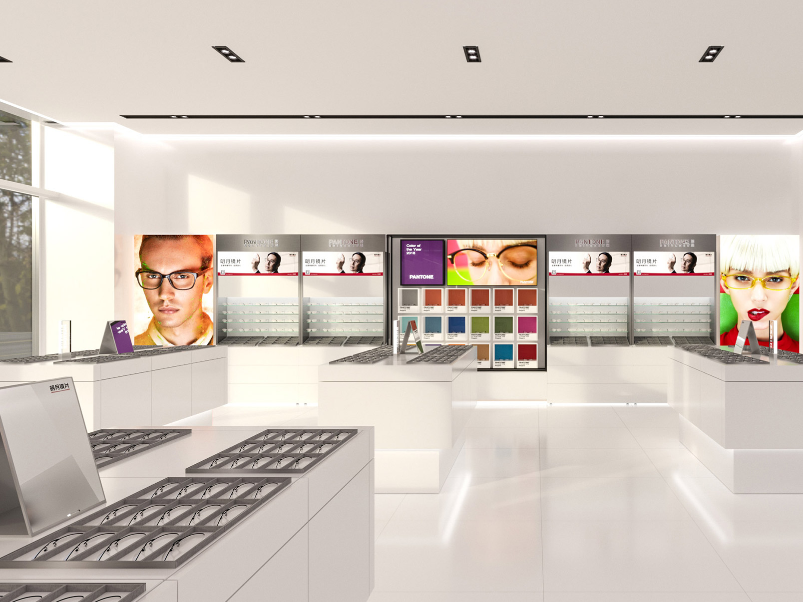 Ming Yue Experience Store Design | Retail Design